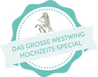 Das große WESTWING Hochzeit-Special | Logo | Badge