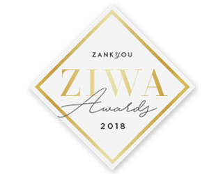 ZANKYOU ZIWA Awards 2018 | Logo | Badge