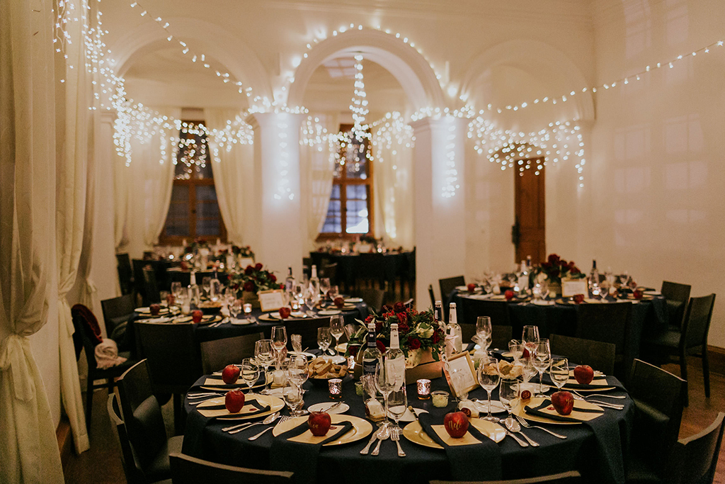 Magical Winter Wedding | Schloss Hemhofen | Bayern